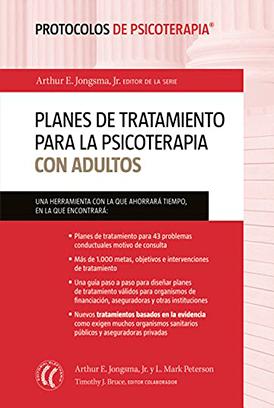 planes de tratamiento para la psicoterapia con adultos arthur jongsma