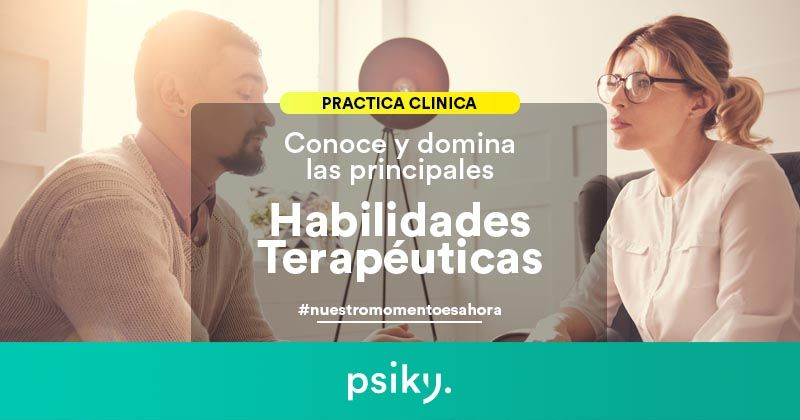 habilidades terapéuticas práctica clínica de la psicología