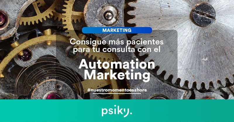 marketing para psicólogos automation marketing