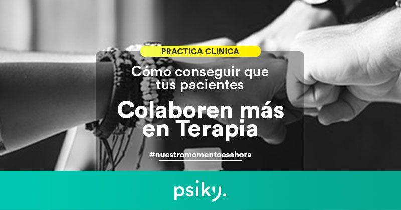 práctica clínica habilidades de terapia colaboración pacientes