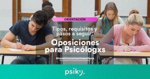 oposiciones para psicólogos
