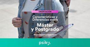 diferencias entre postgrado y master propio habilitante y oficial