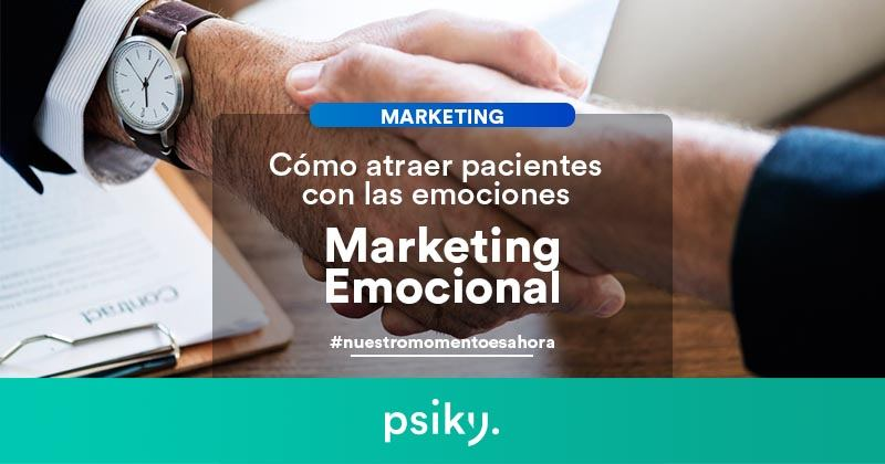 marketing emocional para captar pacientes