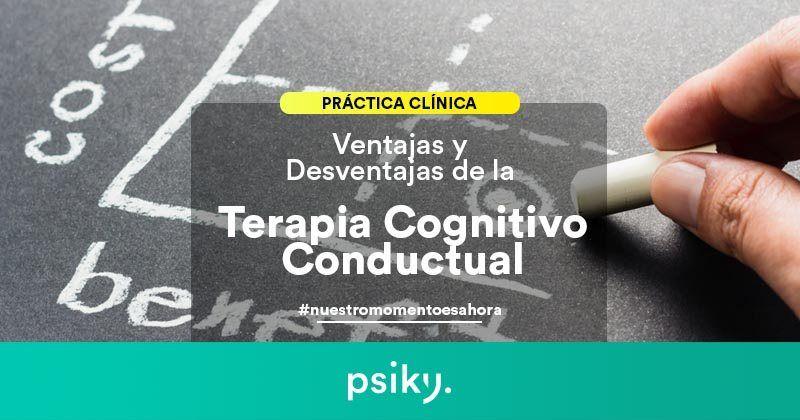 ventajas y desventajas terapia cognitivo conductual