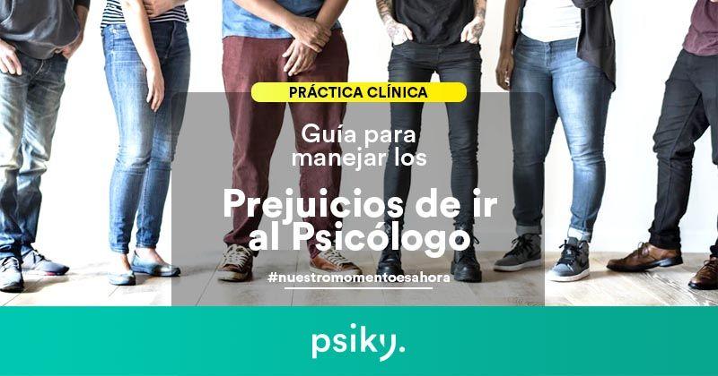Prejuicios de ir al psicólogo