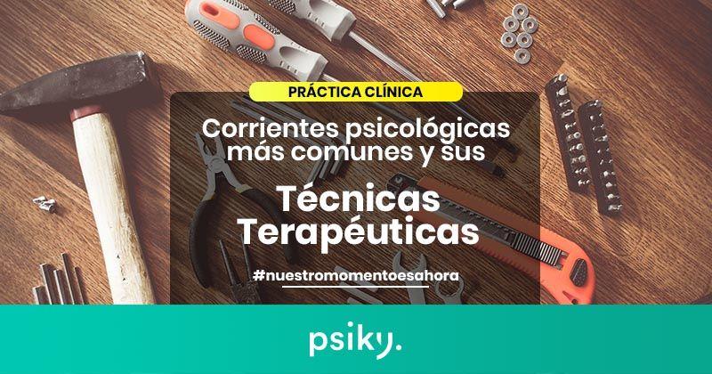 técnicas terapéuticas comunes psicología