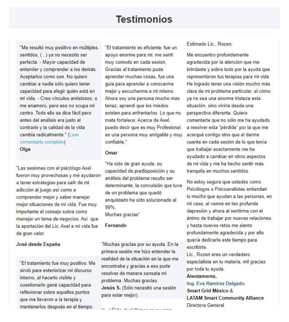 redactar textos one page – 1