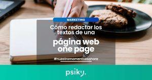 copywriting redactar textos web one page